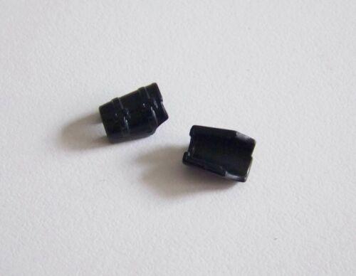 0812 Lot de 2 Manchettes Noir Protection Avant Bras PLAYMOBIL BRAS