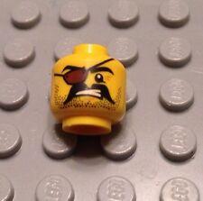 NEW / Lego Pirate Mini- Figure Head / Eye Patch / Body Part / 6099703
