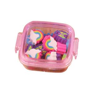EG-20-Pcs-Rainbow-Butterfly-Flower-Pencil-Eraser-Rubber-School-Kids-Gift-Healt