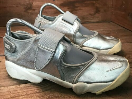 Rare Nike Air Rift Silver Split Toe Tabi Running S