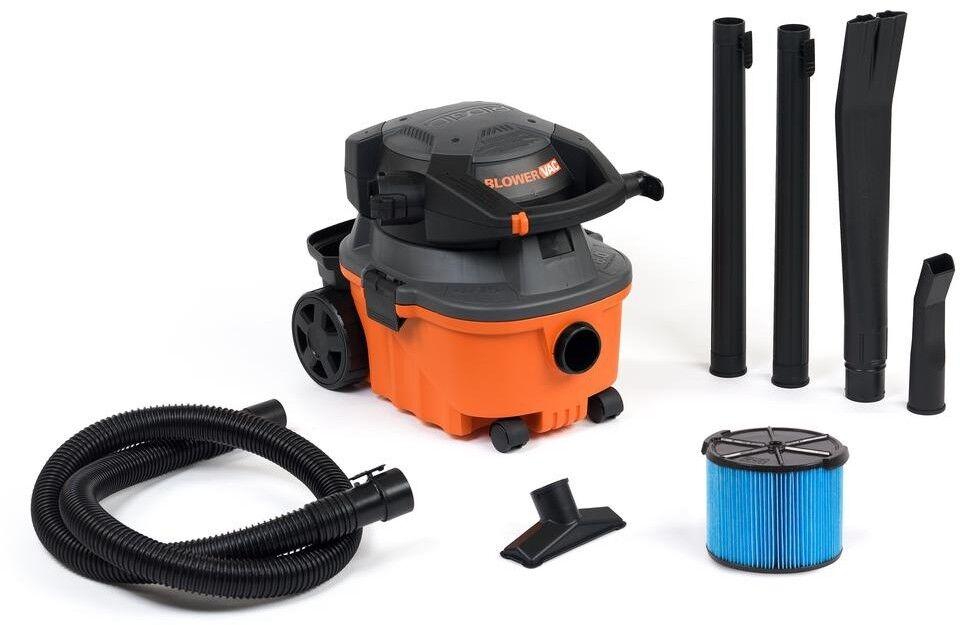 RIDGID Wet Dry Vacuum 120-Volts Detachable Handheld Blower Cartridge 4 Gal.