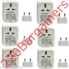 6-PK 100 W Watt To and From 110 220 Volt Travel Voltage Converter 110V 220V 100w