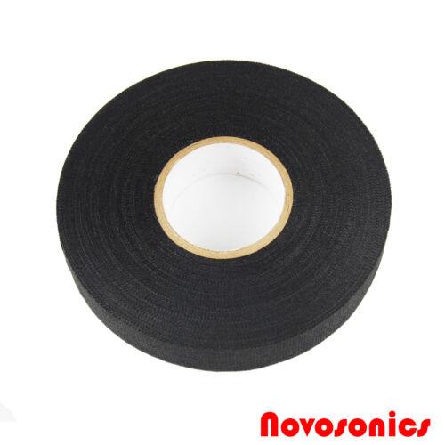 US Seller Novosonics CLT-25M 51618 Automotive Cloth Tape 19mm x 25m 12 PACK