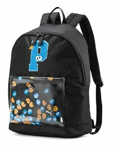 PUMA-Sesame-Street-Backpack-Sport-Puma-Black