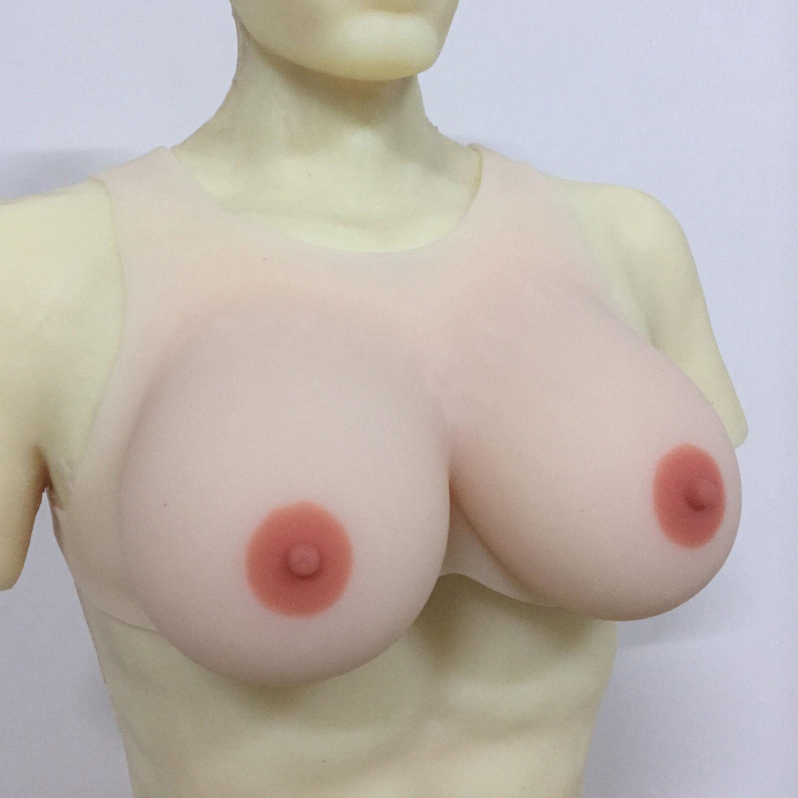 1600g Artificial Silicone Breast Form Transgender 4XL False Boobs Big Boobs