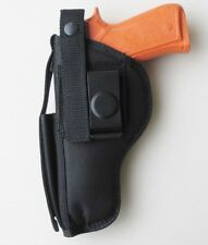 "Gun Holster Belt Clip-on for SAR B6 9mm Full Size Pistol with 4.6"" Barrel"