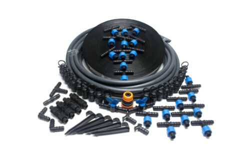 Drip Irrigation Kit 100mIrrigation System with Drip Hose for beds