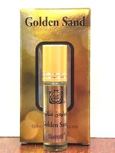 1-Pcs-6ml-Roll-On-Bottle-with-Golden-Sand-Concentrated-Perfume-Oils