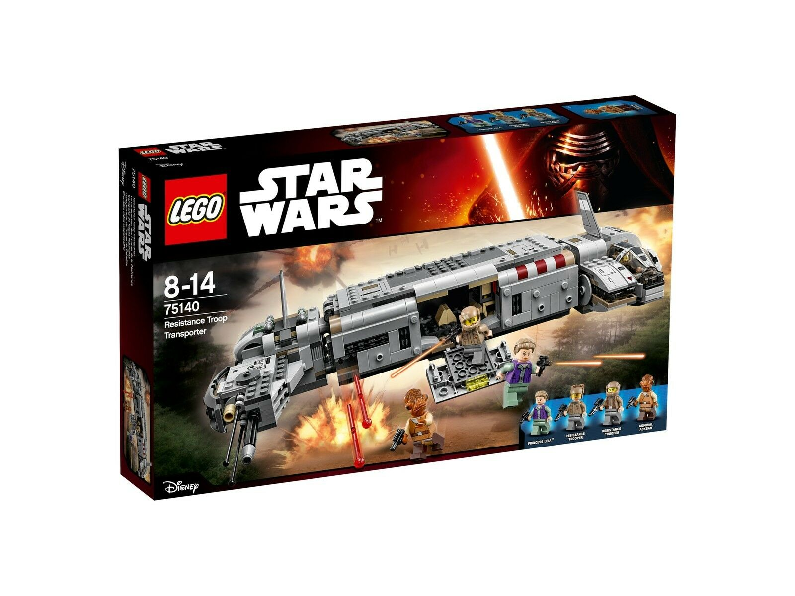 LEGO star wars 75140 resistance troop transporteur jouets by Brand toys