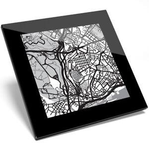 1 X Cool Lisbonne Portugal Carte Verre Coaster-cuisine étudiant Qualité Cadeau #8415-afficher Le Titre D'origine Volume Large
