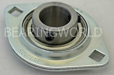SBPFL204-20MM  High Quality 20mm  Pressed Steel 2-Bolt Flange Bearing  SBPFL204
