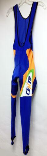 Made in Italy by GSG CENTO Arancia Cycling BIB TIGHTS