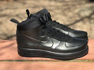 Nike Air Force 1 Foamposite Cup Black AH6771-001 Mens Size 11