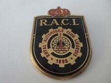 Vintage Royal Automobile Club Liegeois 1898 Belgium Car Club Badge Emblem