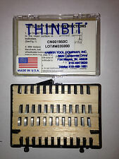 Kaiser Thinbit Carbide Cutoff Grooving Insert Set of 50 New Lathe Tooling