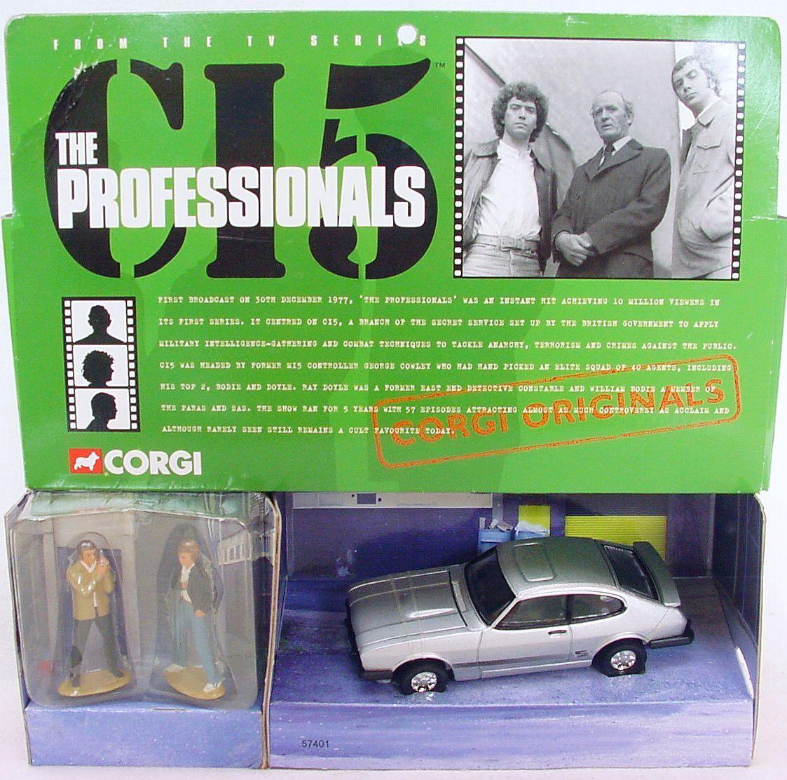 seguro de calidad Corgi Juguetes 1 36  los los los profesionales  Ford Capri Tv Cine Coche Modelo  57401 MIB`99  bienvenido a orden