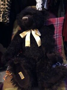 Alpha Farnell Merrythough bear with growler Timber. 20 of 100