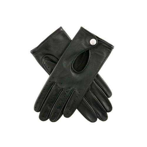 Dents Thruxton Women's Leather Classic Driving Gloves BLACK
