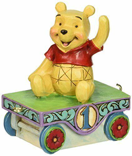 Disney Traditions Jim Shore Winnie the Pooh Birthday Train Age 1 4043655 nib