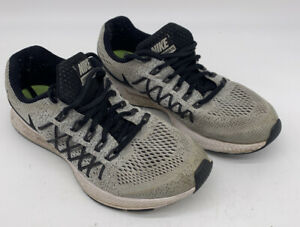 Nike-Air-Zoom-Pegasus-32-Gray-Running-Shoes-759968-001-Boys-Youth-Size-6Y
