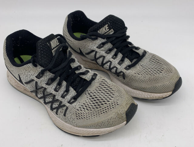 Nike Air Zoom Pegasus 32 Gray Running Shoes 759968-001 Boys Youth Size 6Y