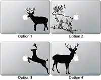 Deer Jumping Eating Apple Decal Sticker Mac Book Air/pro Dell Laptop 13 15 17
