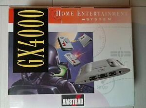 Console Amstrad GX4000 Vintage Nuovo New Home entertainment system