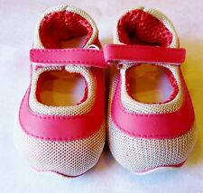 """Red Embroidered Floral Clogs fit 23/"""" Straight Leg or Poseable Doll Shoes 98mm"""