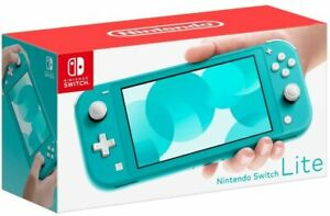 Nintendo Switch Lite Console - Turquoise Brand New