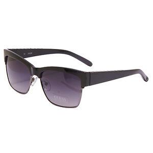 Guess-schwarzes Quadrat Klassische Sonnenbrille mit Etui