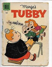 Marge's Tubby May - June 1958 #28 Dell Comic Book Silver Age Knotknee Alvin 7up