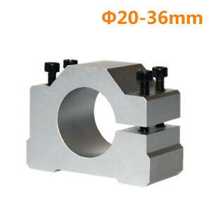 65mm//80mm//10mm Spindle Motor Mount Bracket Clamp for CNC Engraving Machine
