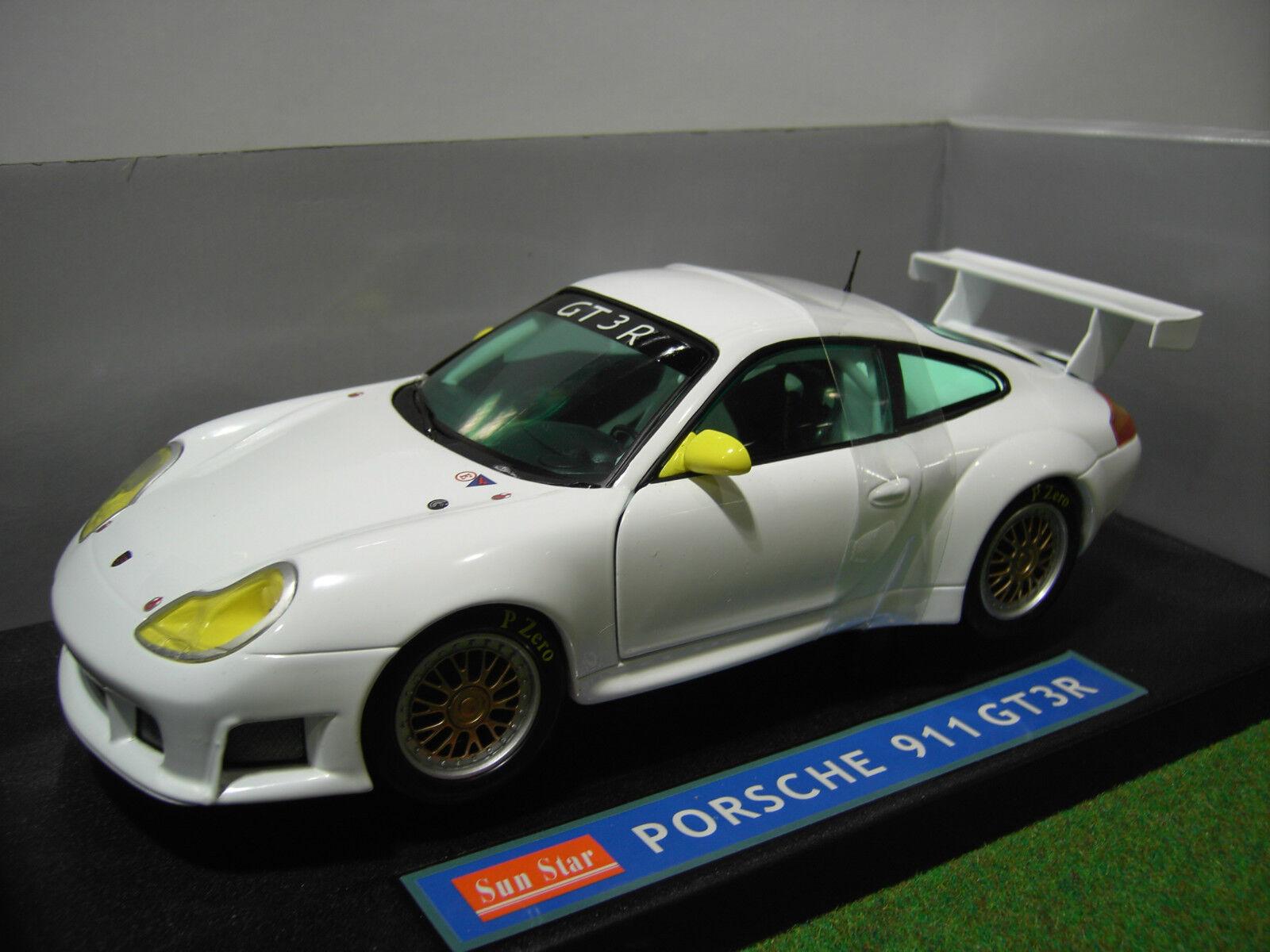 60% de descuento PORSCHE 911 GT3 GT3 GT3 R type 996 Circuit 1 18 SUNEstrella SUN Estrella 1300 voiture miniature  tomamos a los clientes como nuestro dios