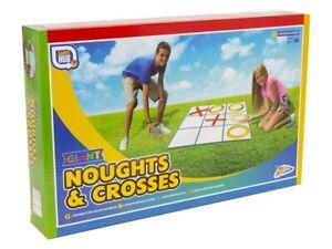 Noughts-amp-Crosses-Infantil-Gigante-Jardin-Fiesta-Juego-Interior-amp-Juguete-SR09