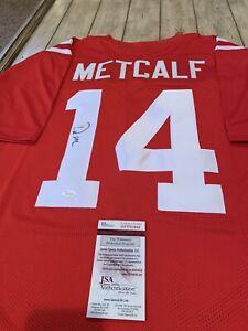 DK-Metcalf-Autographed-Signed-Jersey-JSA-COA-Ole-Miss-Rebels