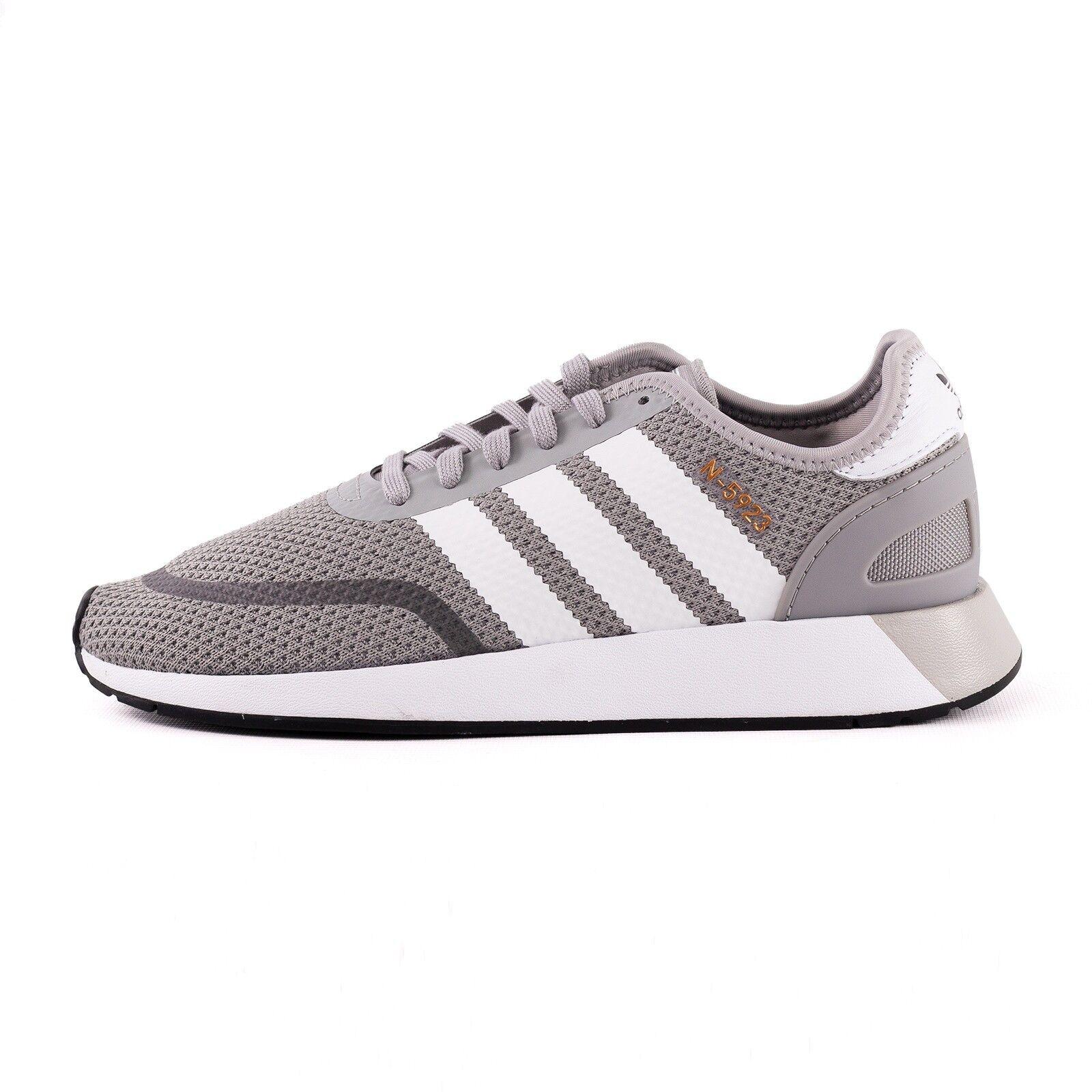 Adidas n-5923 zapatos calcetines cortos gris blancoo 51434