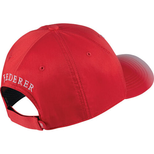 New NIKE AEROBILL ROGER FEDERER Hat RF TENNIS Cap 868579-660 Action Red