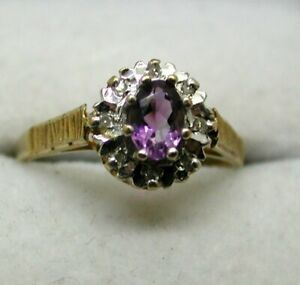 Lovely-9-carat-Gold-Tanzanite-And-Diamond-Cluster-Ring-Size-L-1-2