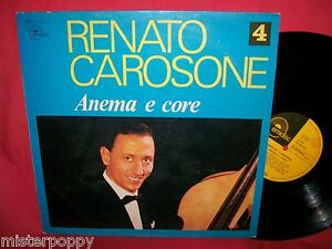 RENATO-CAROSONE-4-Anema-e-core-LP-ITALY-1974-MINT