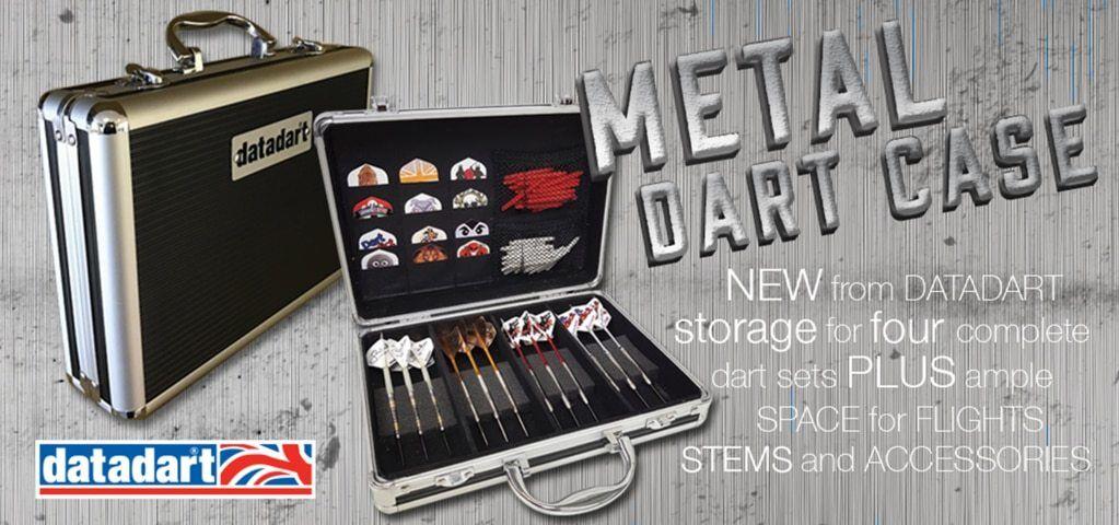 Datadart large metal dart case