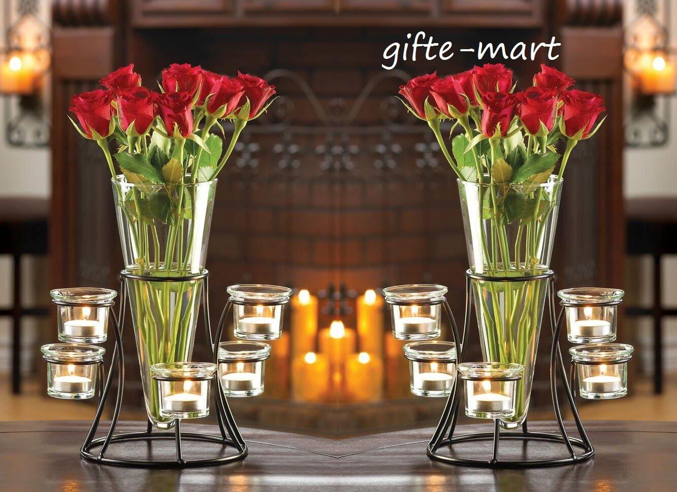 Dining Table Centerpiece Vases Rectangular Medium Gray Black Vintage Flower Vase For Sale Online Ebay