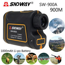 SNDWAY For Sports 900M Angle Meter Speed Measurer Telescope 8X Laser G2