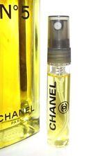 Chanel No 5 Eau de Toilette 6ml TRAVEL SAMPLE Spray Glass N°5 N5 EDT 0.20oz