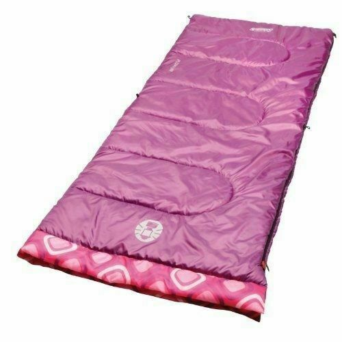 Girls Youth 45 Rectangle Sleeping Bag for sale online Coleman 2000014155
