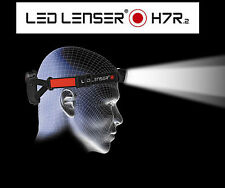 LED Lenser H7R.2 Rechargable Flashlight Headlamp Head Light Torch 300 Lumens