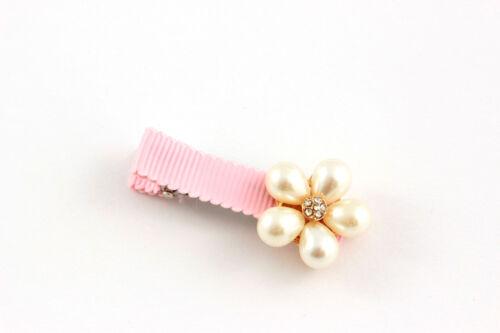 Haarklammer Haarspange Blume Blüte Schleife Krone Strass Perlen Haarschmuck A425