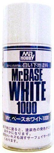 Mr Hobby Base Surfacer White 1000 180ml Spray B518 Gunze GSI Creos Paint Primer