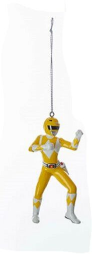 Power Rangers NEW * Yellow Ranger Ornament * 5-Inch Christmas Holiday Blow Mold