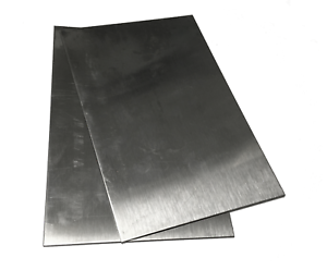 "4/""x6/"" 304 Stainless Steel Plates .048/"" 2pc 18gauge Sheet Metal Welding Test"