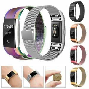 For-Fitbit-Charge-2-Watch-Strap-Wrist-Band-Milanese-Stainless-Steel-Classic-UK